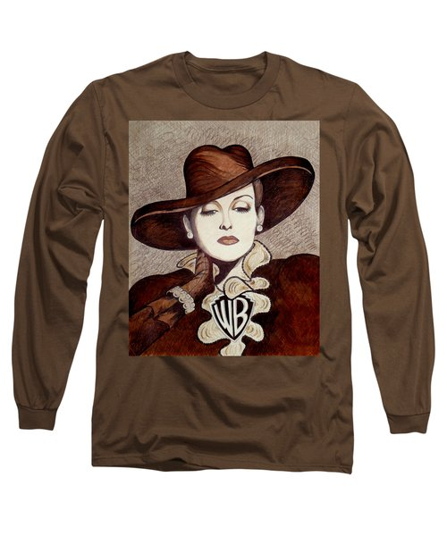 Bette Davis The Warner Brothers Years Long Sleeve T-Shirt