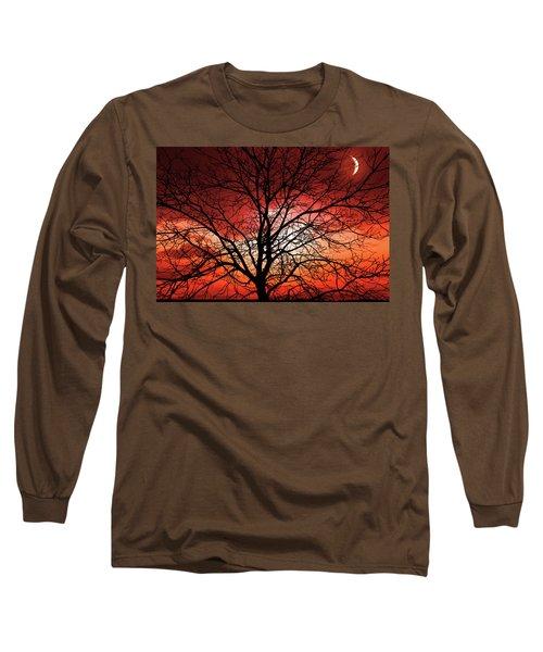 Big Bad Moon Long Sleeve T-Shirt