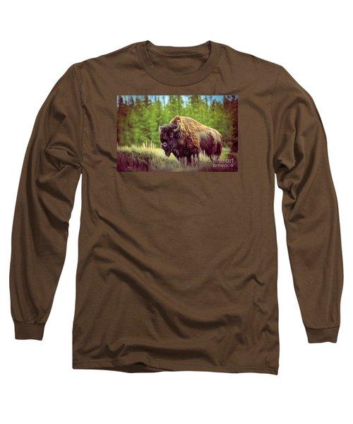 Big Daddy Long Sleeve T-Shirt by Robert Bales