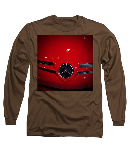Big Red Smile - Mercedes-benz S L R Mclaren Long Sleeve T-Shirt