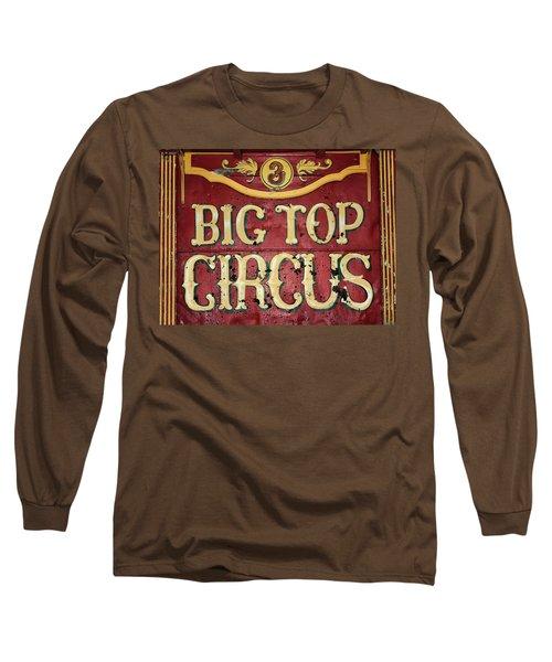 Big Top Circus Long Sleeve T-Shirt by Kristin Elmquist