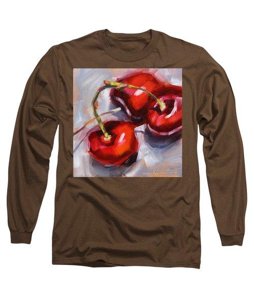 Bing Cherries Long Sleeve T-Shirt