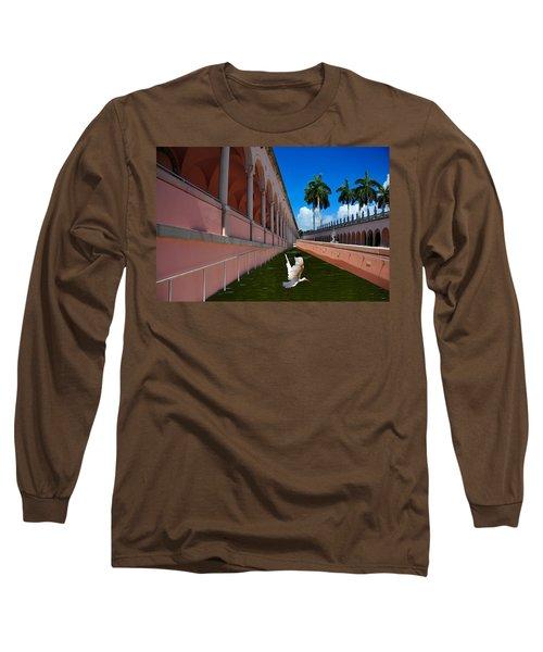 Bird In Flight Long Sleeve T-Shirt