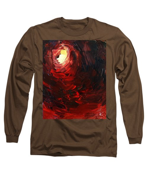 Long Sleeve T-Shirt featuring the painting Birth by Sheila Mcdonald