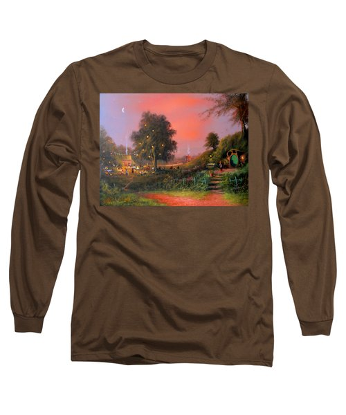 Birthday Party In The Shires Long Sleeve T-Shirt