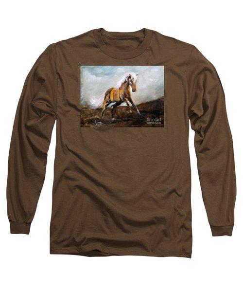 Blanket The War Pony Long Sleeve T-Shirt by Barbie Batson
