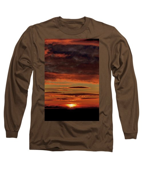 Blazing Sunset Long Sleeve T-Shirt