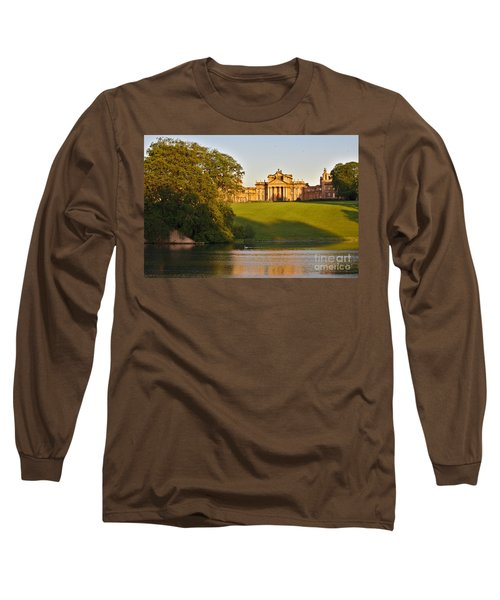 Blenheim Palace And Lake Long Sleeve T-Shirt