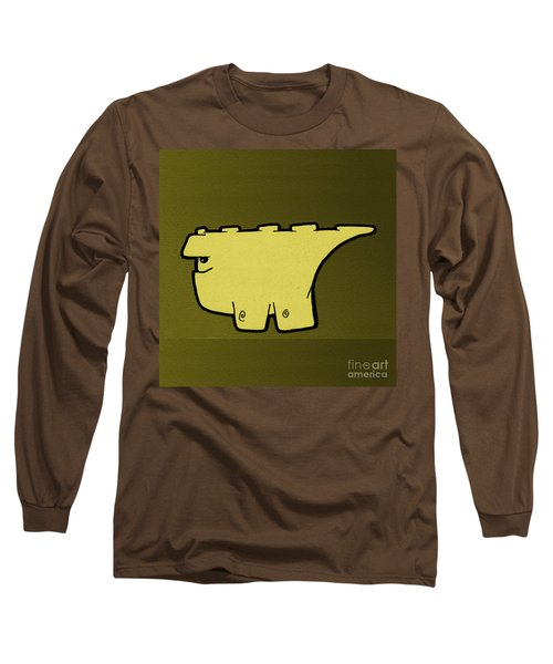 Blockasaurus Long Sleeve T-Shirt by Uncle J's Monsters