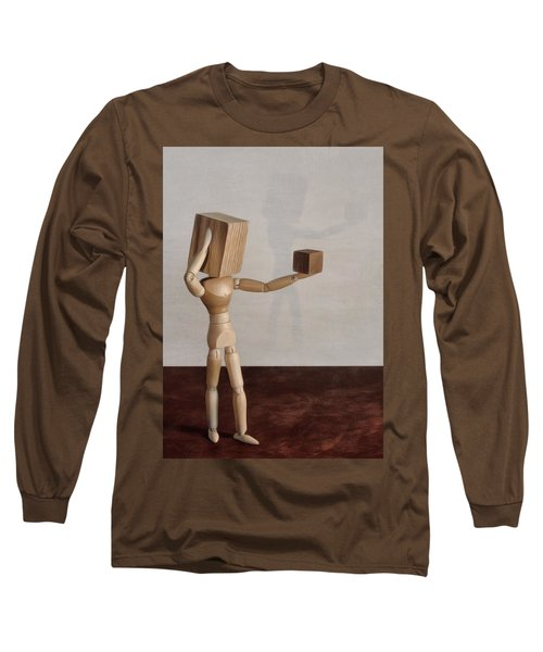 Blockhead Long Sleeve T-Shirt by Mark Fuller