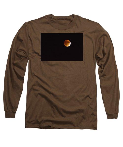 Blood Moon Luna Eclipse Long Sleeve T-Shirt