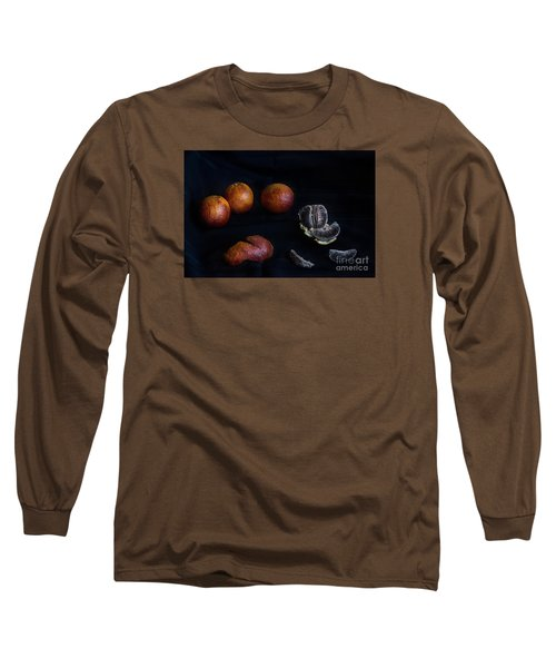 Long Sleeve T-Shirt featuring the photograph Blood Orange Symphony by William Fields