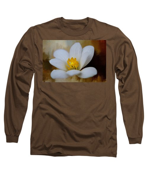Bloodroot Long Sleeve T-Shirt by Diana Boyd