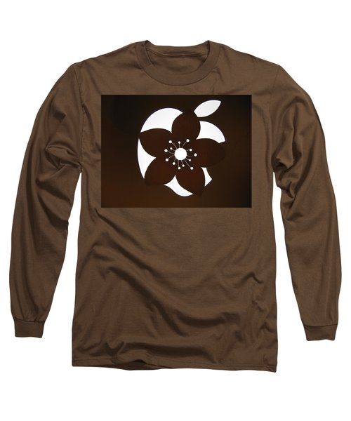 Blooming Apple Mac Long Sleeve T-Shirt