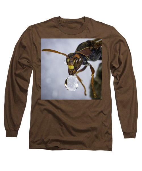 Long Sleeve T-Shirt featuring the photograph Blowing Bubbles by Chris Cousins