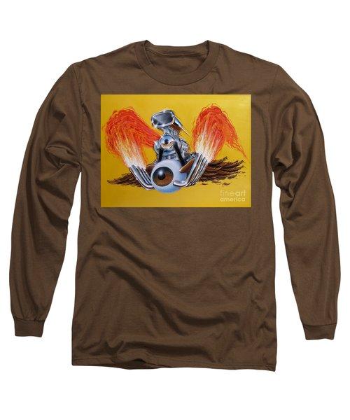 Blown Eyeball Long Sleeve T-Shirt
