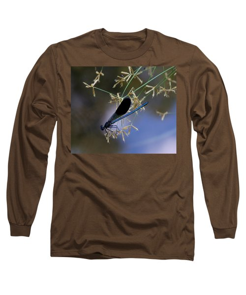Blue Damsfly Long Sleeve T-Shirt