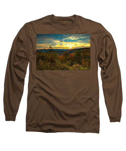 Blue Ridge Sunsets Long Sleeve T-Shirt