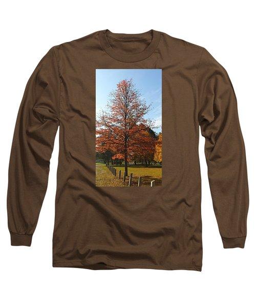 Blue Sky Long Sleeve T-Shirt by Jana E Provenzano