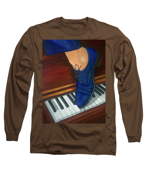Blue Suede Shoes Long Sleeve T-Shirt