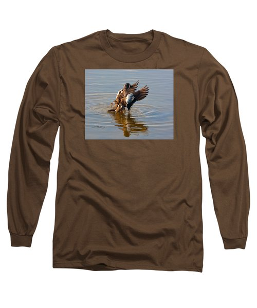 Blue Winged Teal 2 Long Sleeve T-Shirt