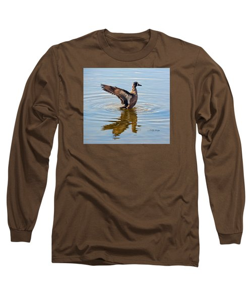 Blue Winged Teal 3 Long Sleeve T-Shirt
