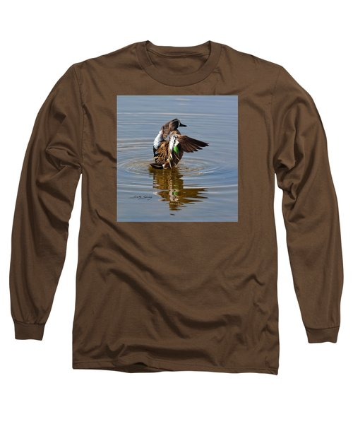 Blue Winged Teal 4 Long Sleeve T-Shirt