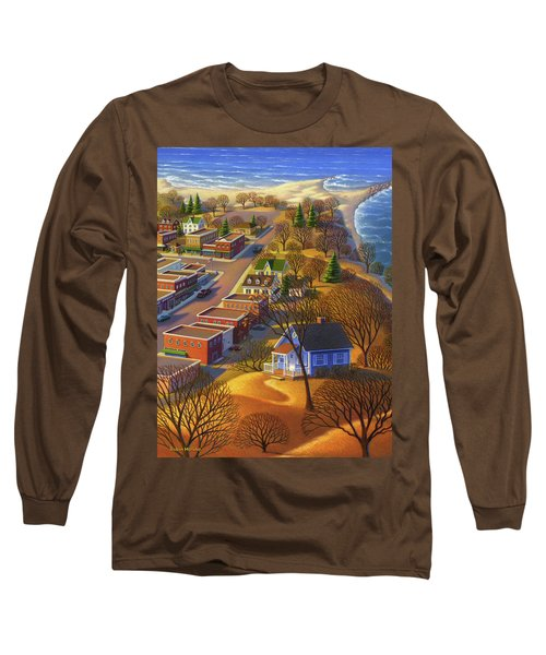 Blueberry Cottage Hill  Long Sleeve T-Shirt