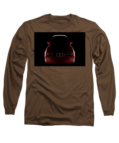 Bmw M3 E30 - Front View Long Sleeve T-Shirt
