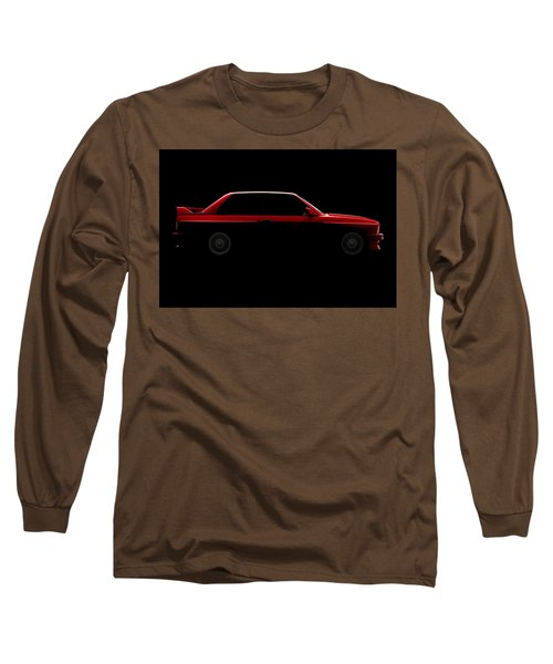 Bmw M3 E30 - Side View Long Sleeve T-Shirt