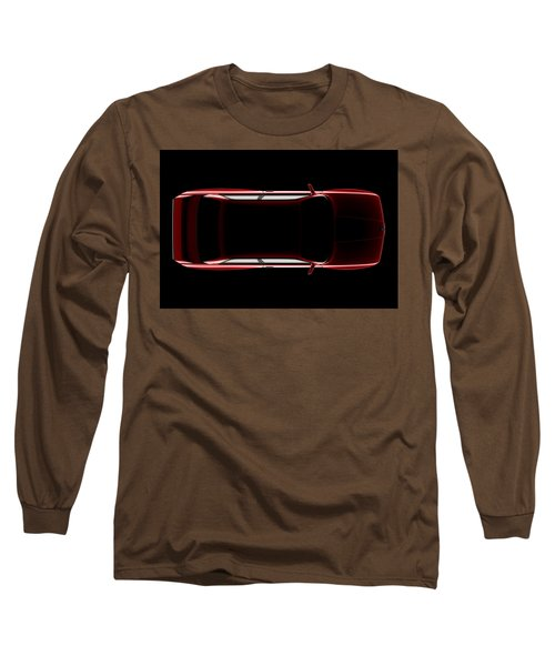 Bmw M3 E30 - Top View Long Sleeve T-Shirt
