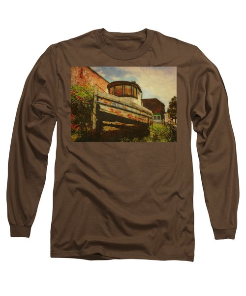 Boat At Apalachicola Long Sleeve T-Shirt