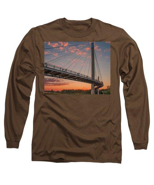 Bob Kerry Bridge At Sunrise-4 Long Sleeve T-Shirt