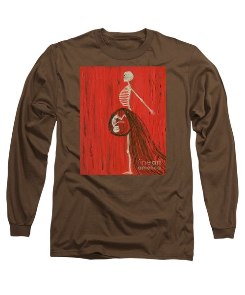 Born To Live E-birth Long Sleeve T-Shirt by Talisa Hartley