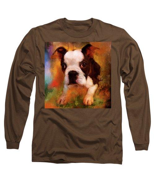 Boston Puppy Long Sleeve T-Shirt