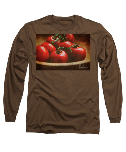 Bowl Of Tomatoes Long Sleeve T-Shirt