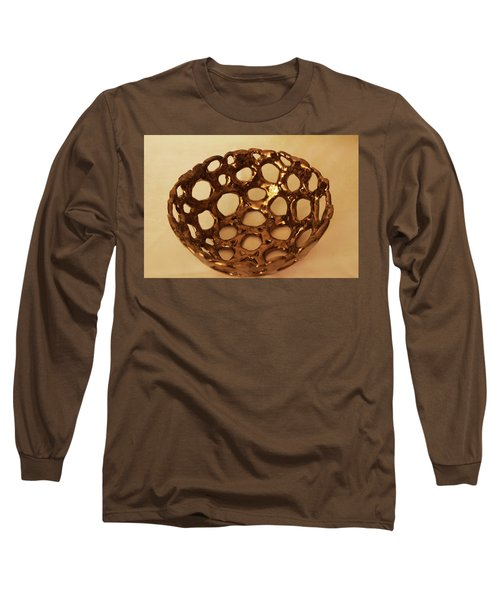 Long Sleeve T-Shirt featuring the photograph Bowle Of Holes by Itzhak Richter