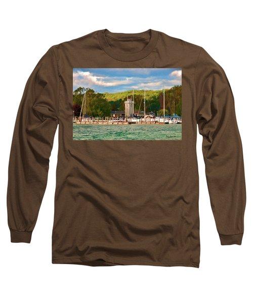 Boyne City Marina Long Sleeve T-Shirt