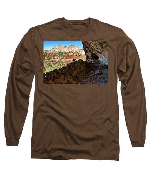 Boynton Canyon 05-1019 Long Sleeve T-Shirt by Scott McAllister