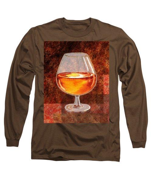 Brandy Snifter Long Sleeve T-Shirt
