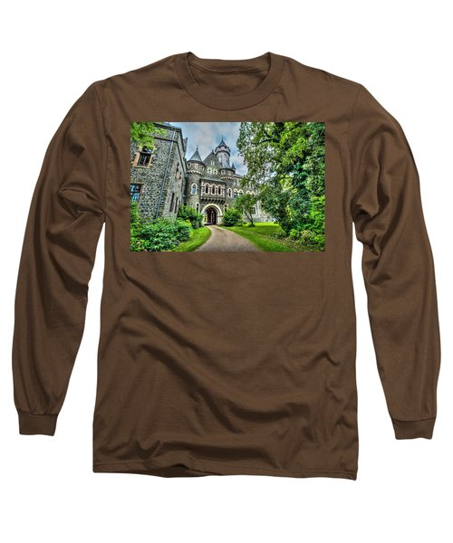 Long Sleeve T-Shirt featuring the photograph Braunfels Castle by David Morefield