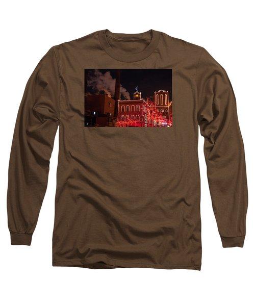 Brewery Lights Long Sleeve T-Shirt by Steve Stuller