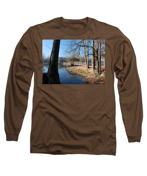 Brick Pond Park Long Sleeve T-Shirt by Kay Lovingood