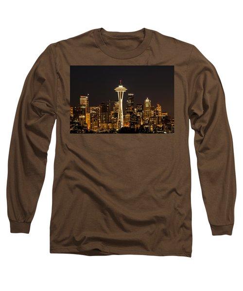 Bright At Night.1 Long Sleeve T-Shirt