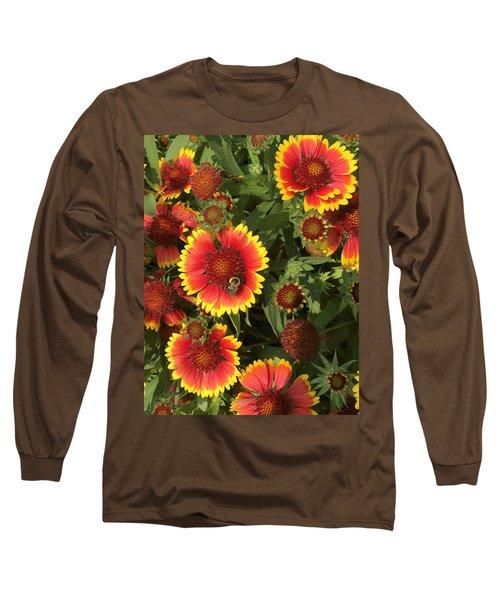 Bright Daisy-like Long Sleeve T-Shirt
