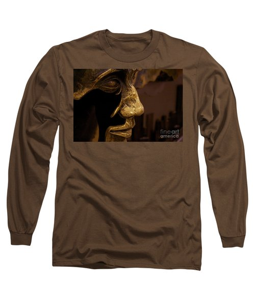 Broken Face Long Sleeve T-Shirt
