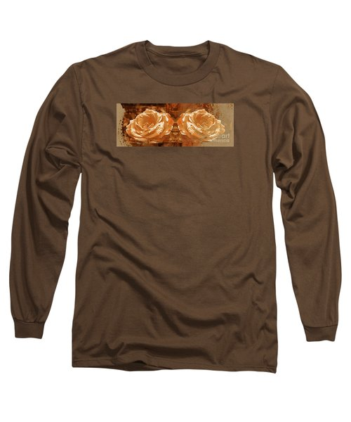 Bronzed Long Sleeve T-Shirt by Clare Bevan