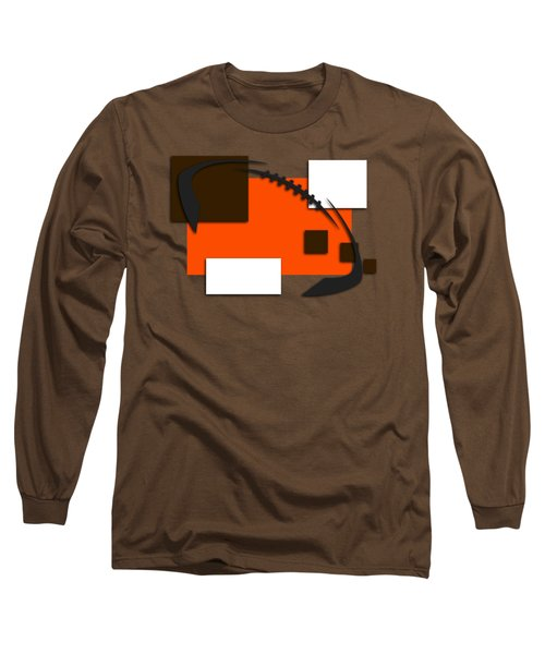 Browns Abstract Shirt Long Sleeve T-Shirt