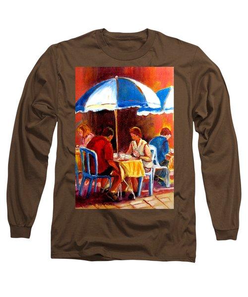 Brunch At The Ritz Long Sleeve T-Shirt