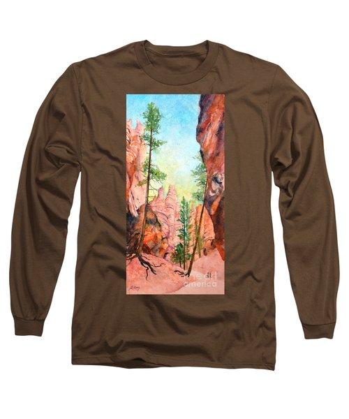 Bryce Canyon #2 Long Sleeve T-Shirt by Betty M M Wong
